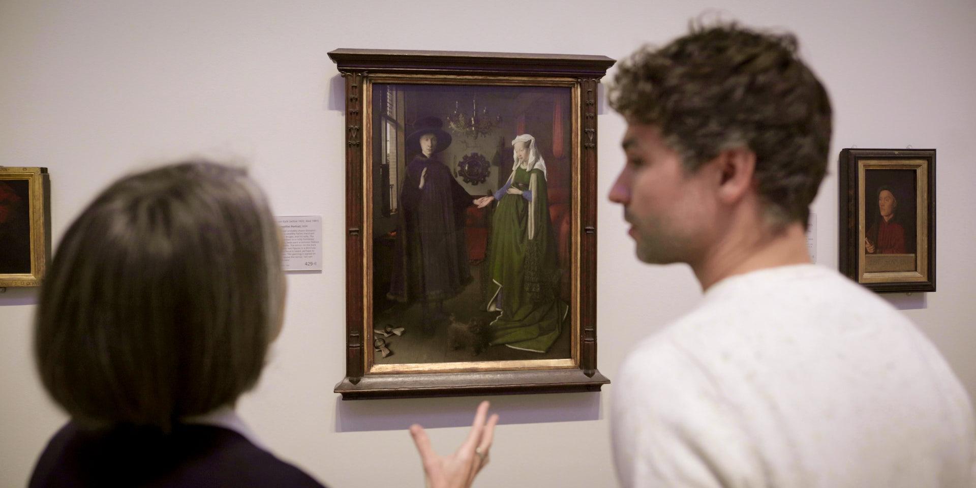 origin of pieces Van Eyck